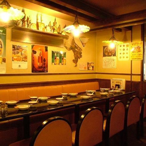14名様までの空間もお作りできます!女子会や各種ご宴会にも◎タイの雰囲気を満喫しながら本格タイ料理をどうぞ♪
