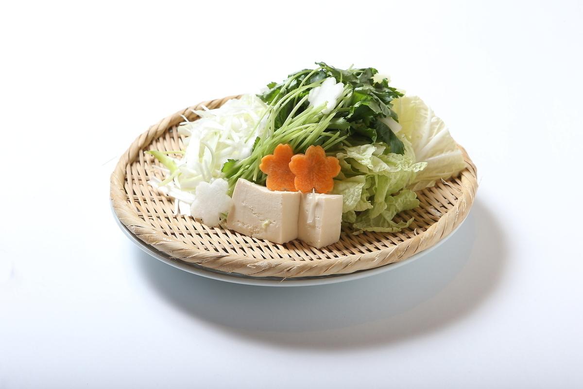 供应时令蔬菜(2人份)