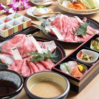 Beef shabu-shabu course <All 6 items> Banquet / drinking party 6,000 yen (excluding tax)