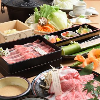 【All-you-can-drink for 2 hours】 Hanabu shabu course [All 7 items] 6500 yen (excluding tax)
