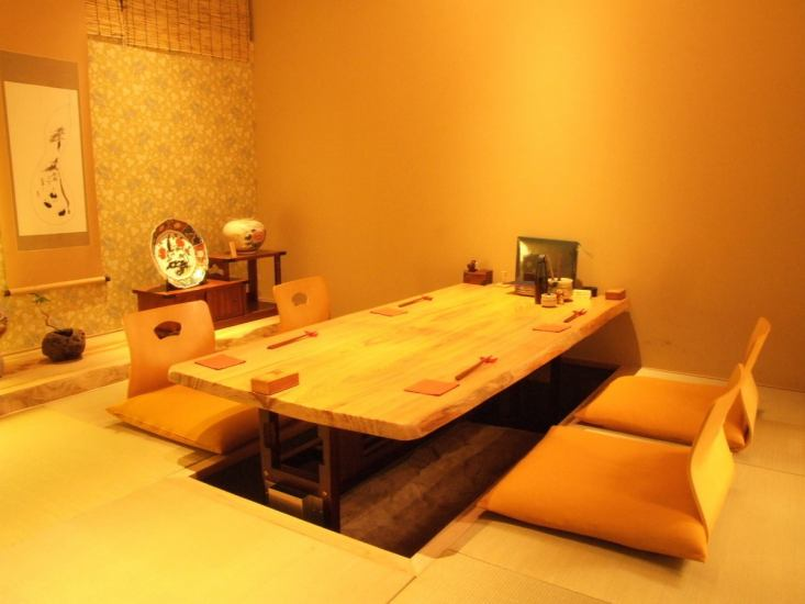 It is like a Japanese-style Japanese-style room.Ideal for hospitable people.
