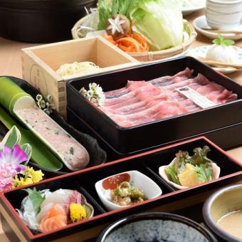 銀涮套餐[共計7項] 3500日元(不含稅)