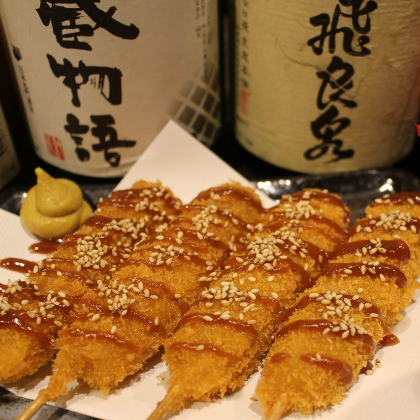 Tohoku commitment pork skewer cut (1)