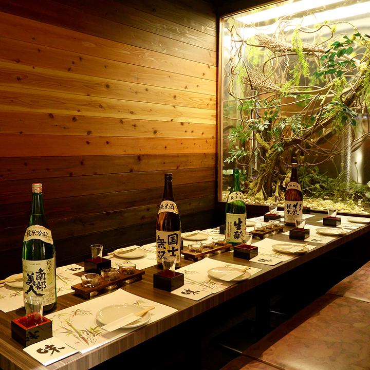我們的商店Ichi按墊沙發挖Tatsu沒有超級VIP完整的單人間★Gokon·娛樂·會議·家庭帶來一切包括一個房間!!請在自誇的私人房間喝美味的飲料♪♪