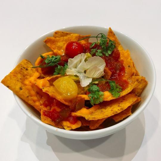 멕시코 아보카도 & 치즈 나초