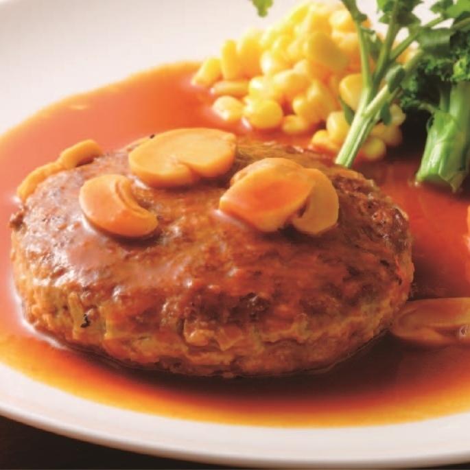 [소고기 햄버거] 라이스 샐러드 부