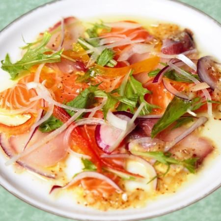 Today's fish carpaccio