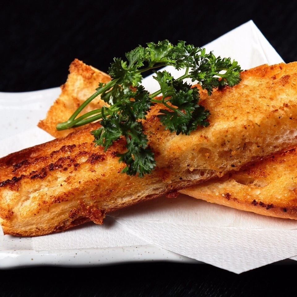 大蒜烤面包