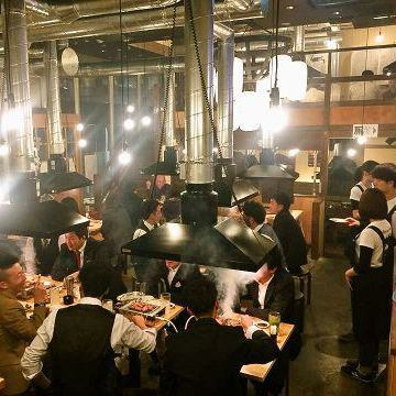 【從車站步行7分鐘】由名古屋車站開設的名古屋甜燒烤店開設的激素店於1962年成立。最後,使用Kiyokushiyuen的甜辣醬提供最佳的烤肉!很久以前,Mokumoku Yakiniku♪從下班回家的路上喝酒到公司宴會各種用法◎