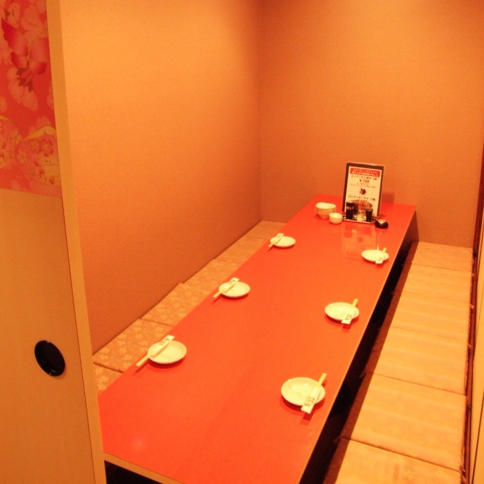 4 to 6 people private room ☆ Sake and Waki ​​and meat and vegetables Kannai store ☆
