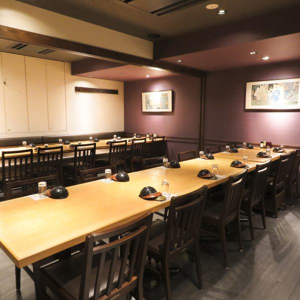 <JR代々木駅西口から徒歩1分> There is also a complete private room that can be used from 4 people up to 50 people! Various rooms are available according to various scenes and number of people ♪ If you prefer a calm atmosphere, use a private room Please give me.Please leave the exciting banquet to earthen furnaces! Small and large groups are welcome!
