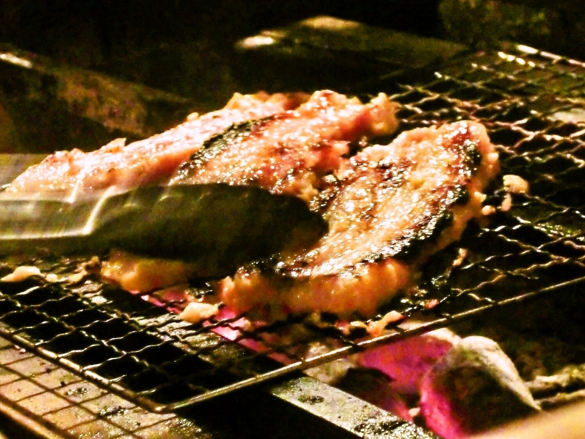 Grilled Pork belly with Nishikyo