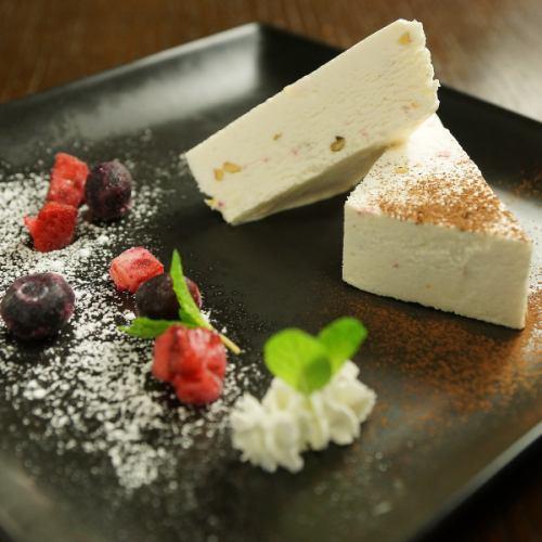 チーズアイスケーキ(カッサータ)
