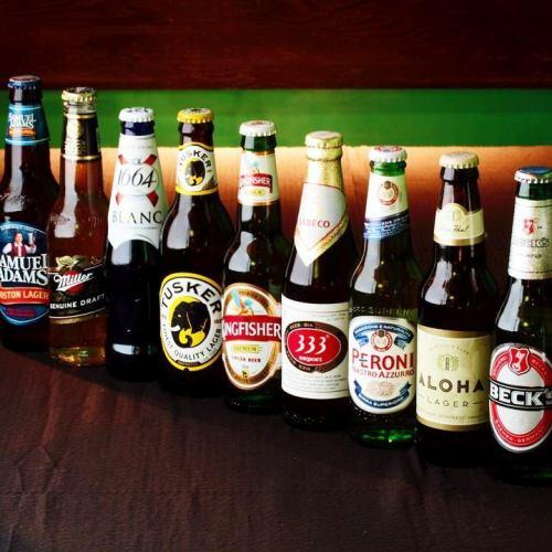 渋谷で選りすぐりの全34種類!種類豊富な世界のビール