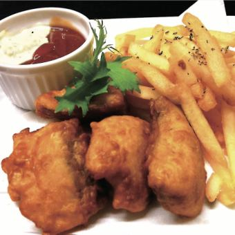 フイッシュ&チップス 《Fish & Chips》