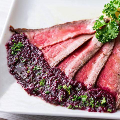 本格ローストビーフ《Roast Beef》
