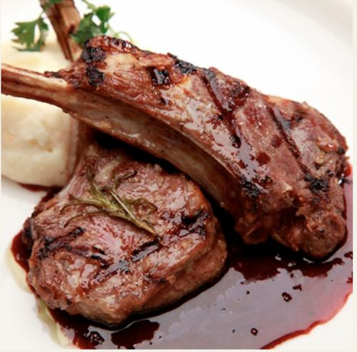 ラムチョップ(2本)《Lamb chops》