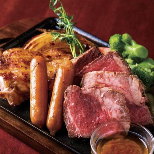 肉と野菜のスペシャルコンボ《Meat & vegetable combination》