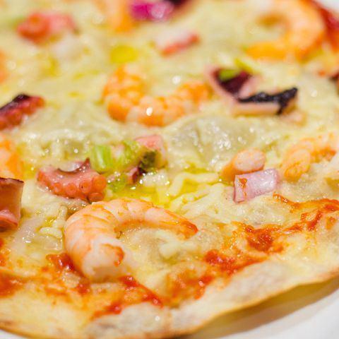 シーフードピザ《Seafood pizza》