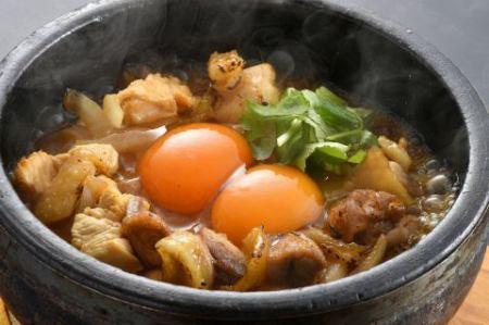 純系の名古屋コーチンを味わえる。