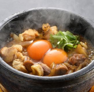名古屋コーチン石焼親子丼