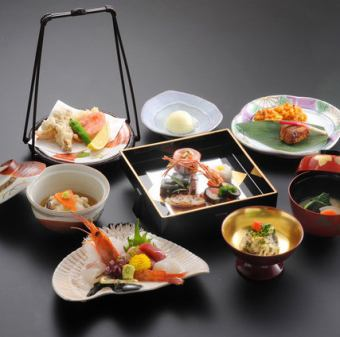 【2 hour drinks with all-you-can-drink party banquet plan】 Four season seating course 7000 yen