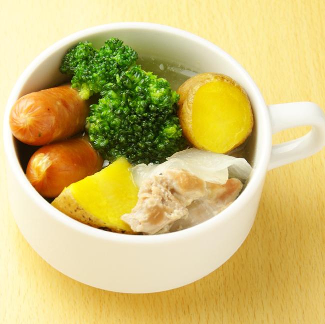 데굴 데굴 야채와 닭고기 토후