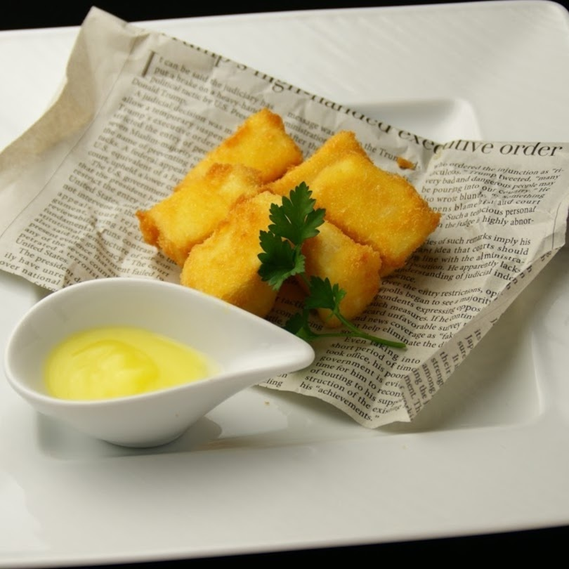Camembert Fries with butter sauce ~