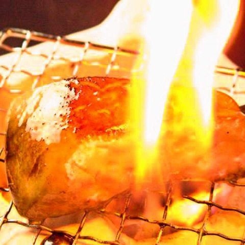 ◇原創一個!炭烤鵝肝牛排串 - 炒豬肉〜