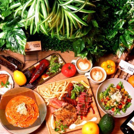 ◆◇◆午餐时间有限公司◆◇◆【肉节午餐协会】120分钟软饮料所有你可以喝6项1980日元