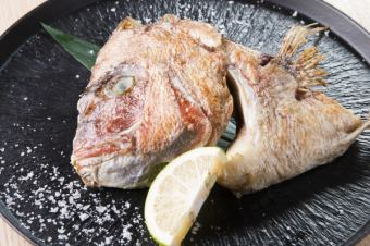 Grill of the sea bream