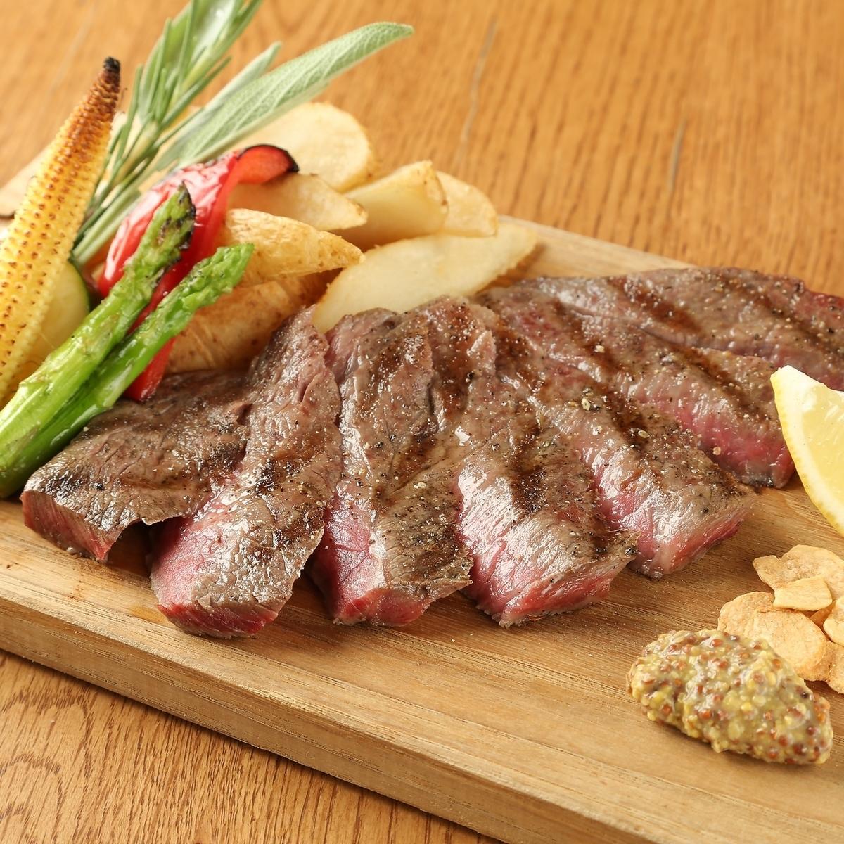 黒毛和牛肉のタリアータ