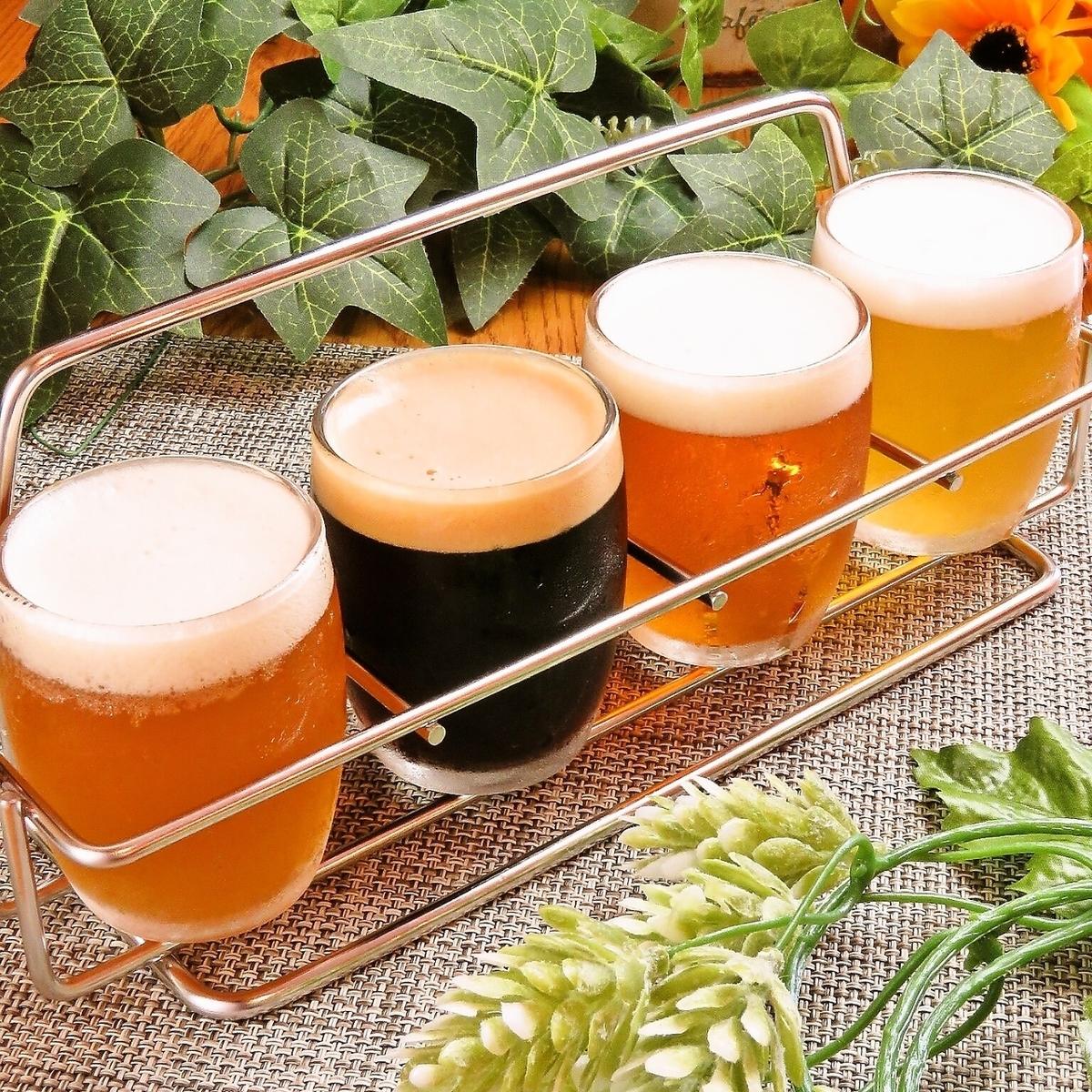 クラフトビール4種飲み比べセット