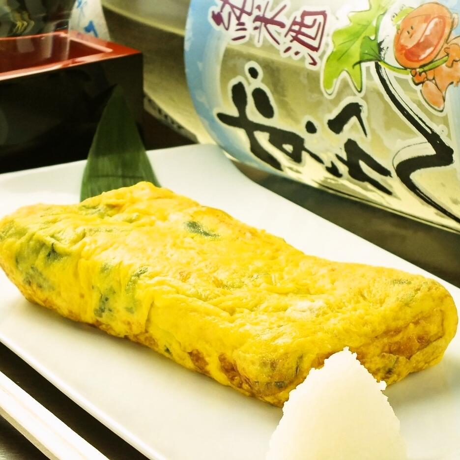广岛蔬菜寿司卷蛋〜大山鸡受精蛋〜