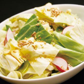 Salt sauce cabbage