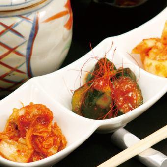 Assorted Kimchi (3 varieties)