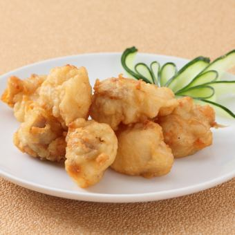 Deep-fried crispy young chicken (without bone)