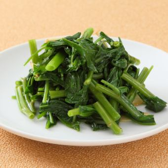 Stir-fry garlic flavor of aka grease 【※ photos】 / Stir-fried garlic flavor of soybean seeds