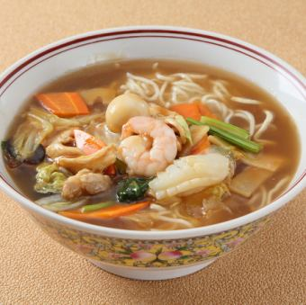Goshoe soup noodles