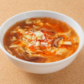 Special Sichuan wind pickle soup