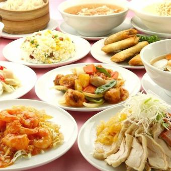 【Taiwan Family Course】 All 10 items 10500 yen (3 ~ 4 servings)