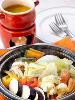 笑姫の彩り野菜窯