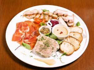 お肉の前菜5種盛り合わせ