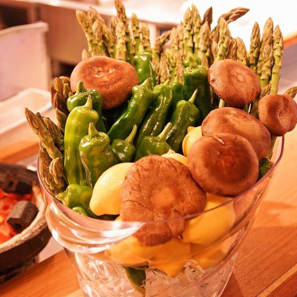 新鮮!朝採れ野菜