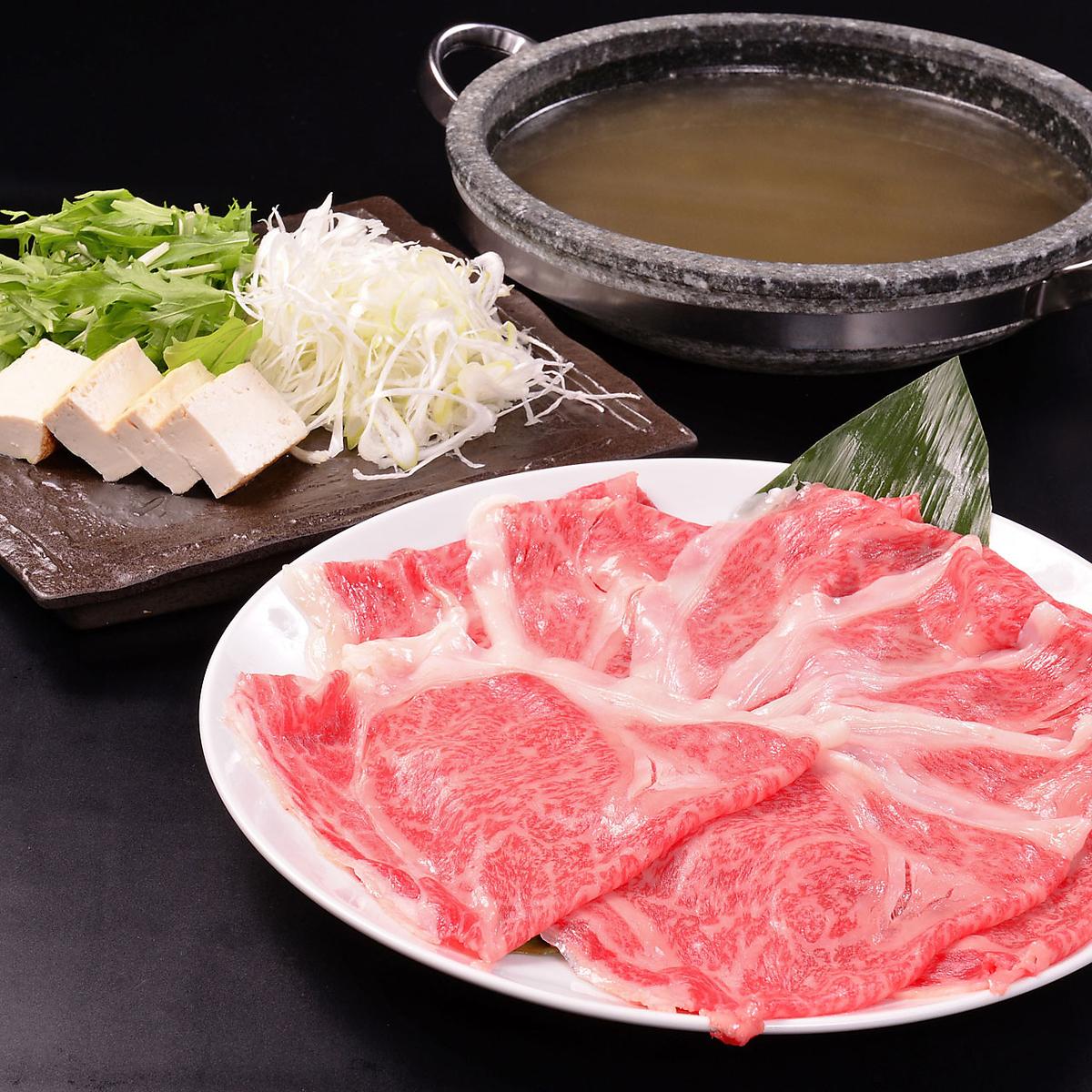 新泻特产★村上牛肉涮锅