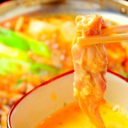 【国地鶏すき焼き鍋】地鶏タタキ+刺身盛り付き贅沢コース!10品+120分[飲放]⇒4500円!