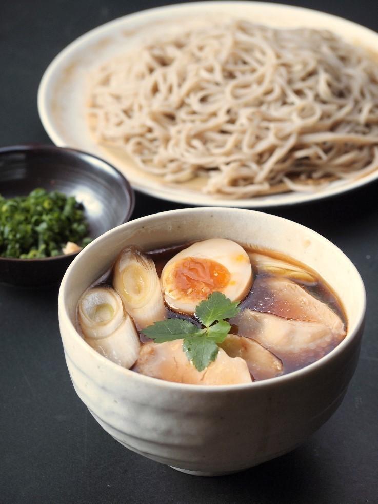 Shizuoka Ikki chicken stock of chicken buckwheat noodles