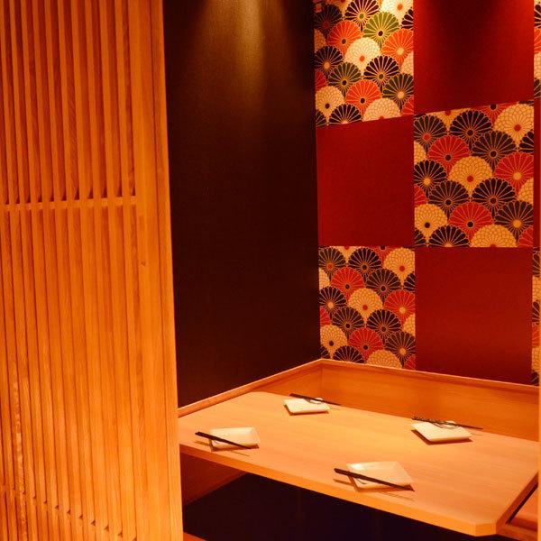 【挖榻榻米Osami座位】少數客人也可以♪我們提供3人全套3280日元課程,因此我們可以容納大型和小型宴會♪秘書薩馬必看我們也有優惠券,所以我們可以盡快安排預訂!我們為您提供80種無限暢飲!