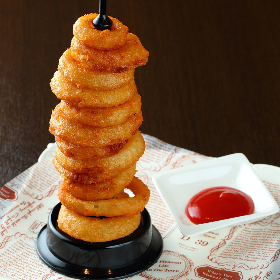 Tower of onion ring
