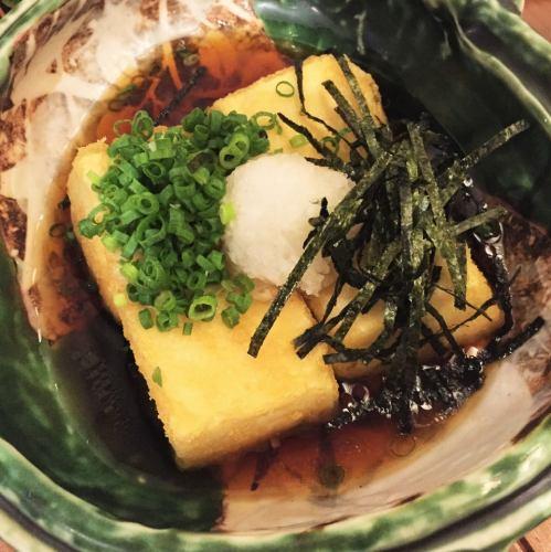 トロトロ揚げ出し豆腐